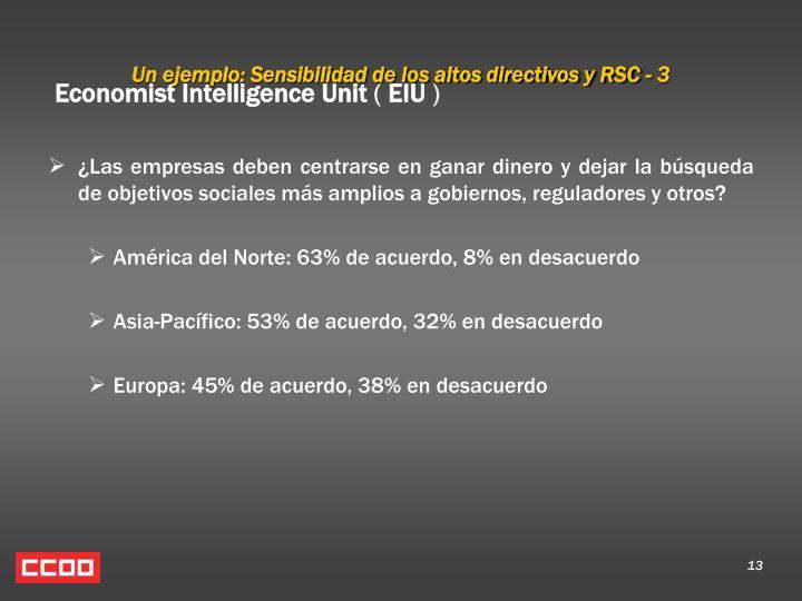 Un ejemplo: Sensibilidad de los altos directivos y RSC - 3