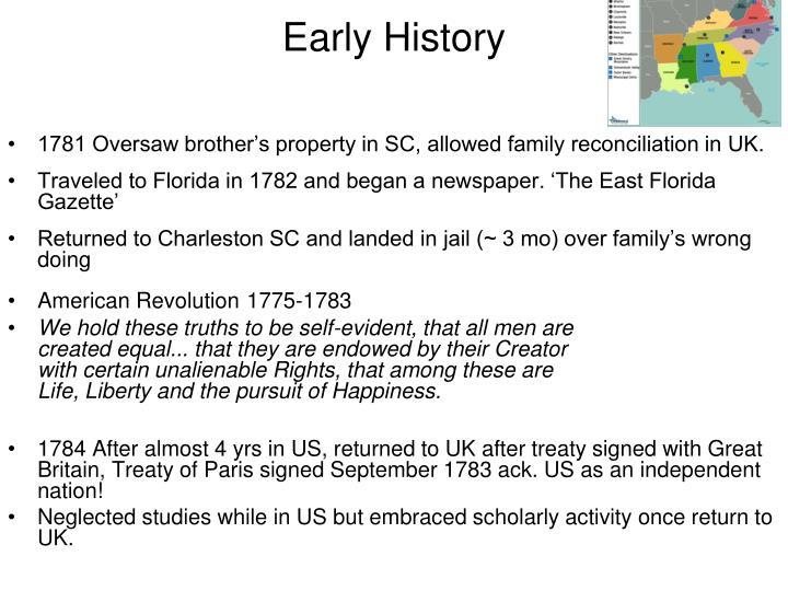 Early history1