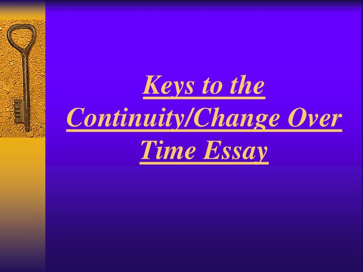 changes and continuities of islam essay