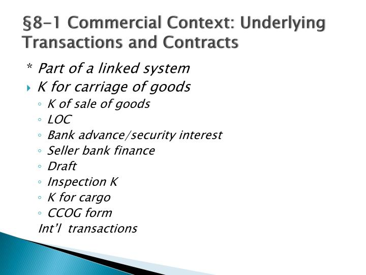 commercial transactions contracts Commercial contracts we have negotiated and drafted many commercial contracts of all types for our ongoing business clients, from the routine to the highly creative transaction.