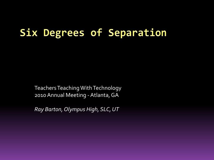 5 degrees of separation Degrees of separation: the umass system has just a 5 percent discount rate on its $30,636 estimated cost to attend.