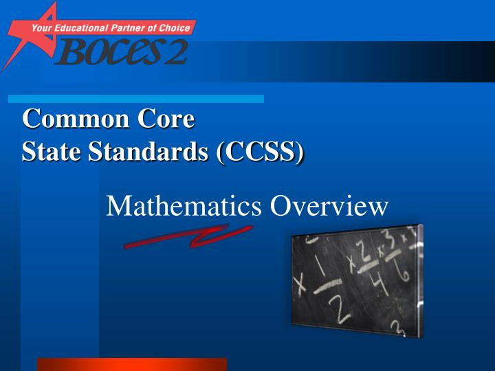 common core state standards ccss n.