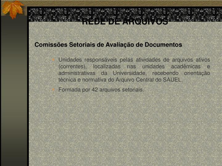 REDE DE ARQUIVOS