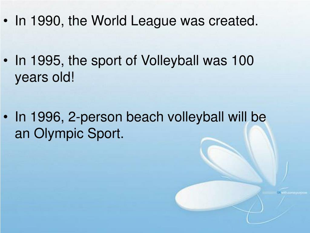 Ppt The History Of Volleyball Powerpoint Presentation Free Download Id 3756325