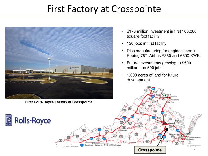 First Factory at Crosspointe