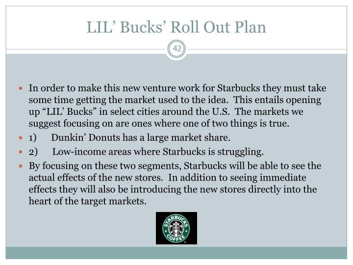 LIL' Bucks' Roll Out Plan