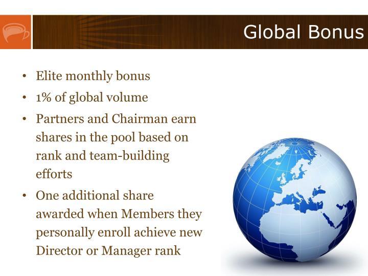 Global Bonus