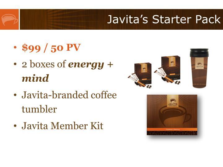 Javita's Starter Pack