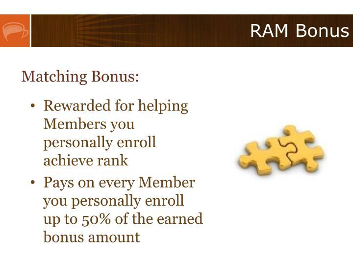 RAM Bonus