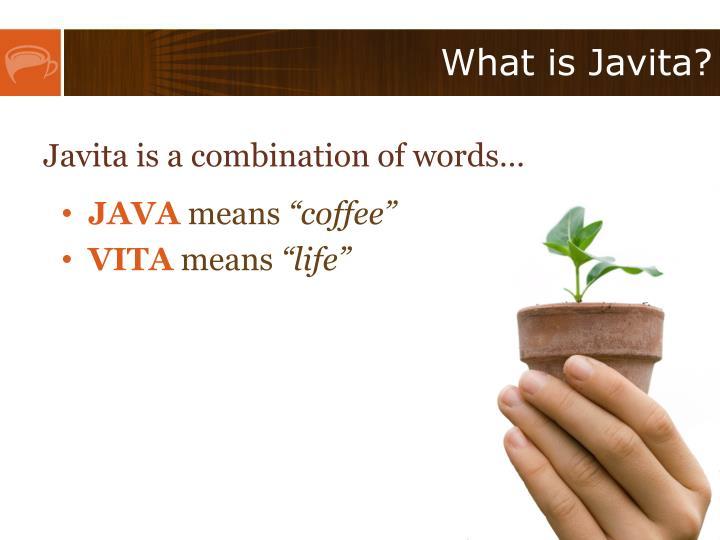 What is javita