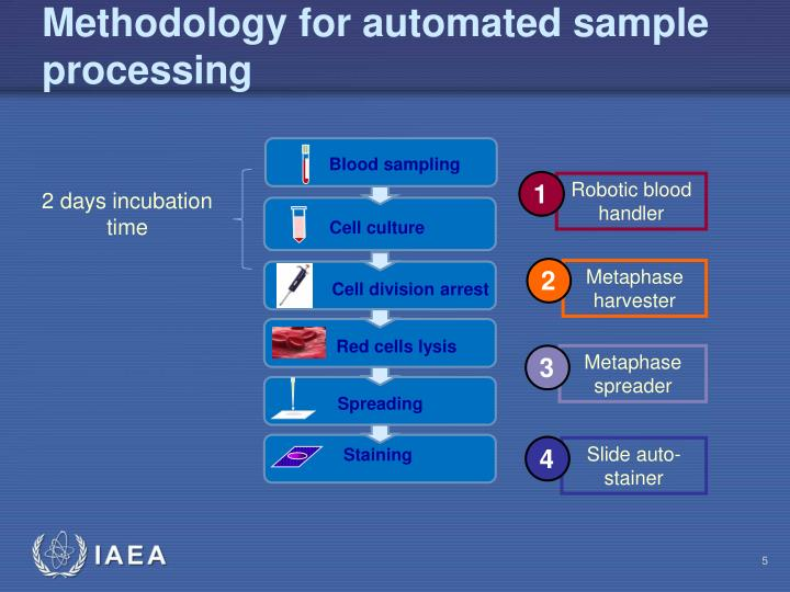 Methodology for automated sample processing