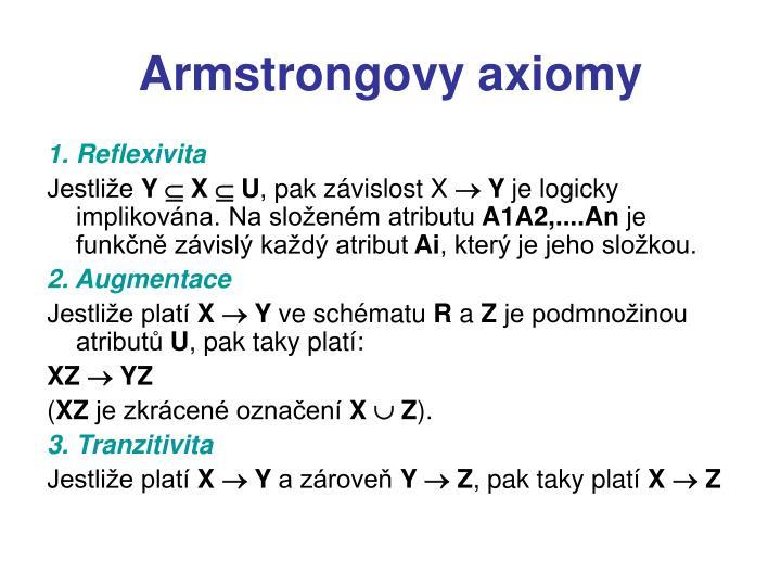 Armstrongovy axiomy