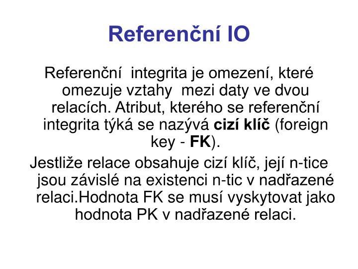 Referenční IO