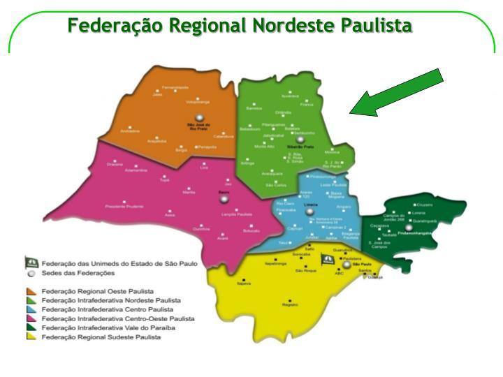 Federa o regional nordeste paulista