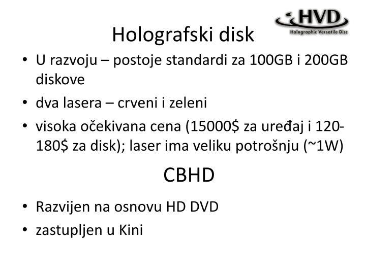 Holografski disk