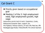 cal grant c1