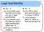 legal guardianship
