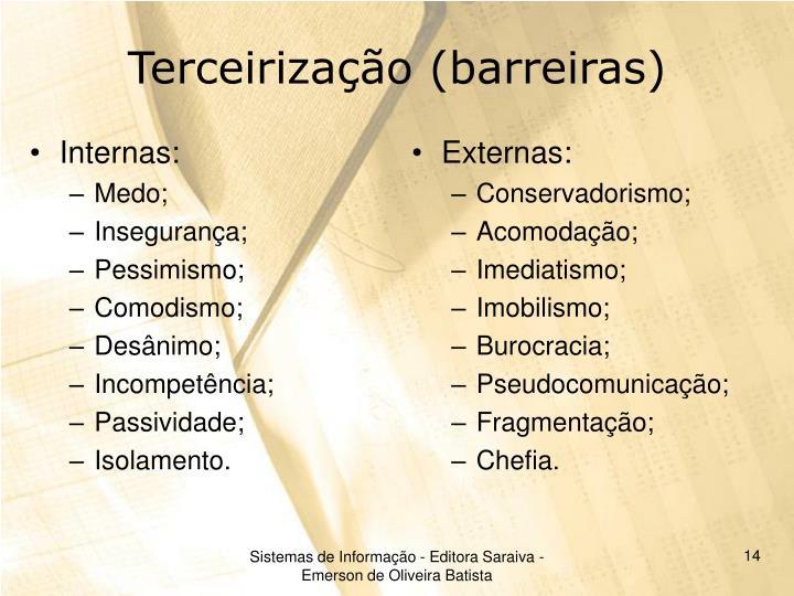 Internas: