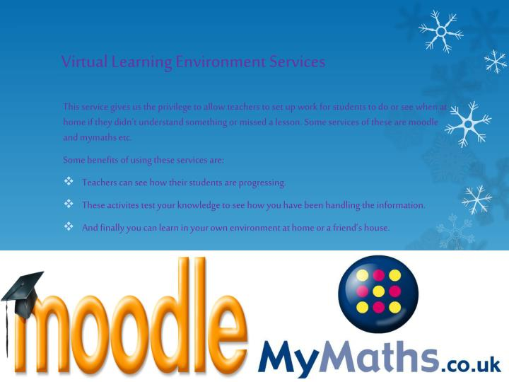 Virtual Learning Environment Services
