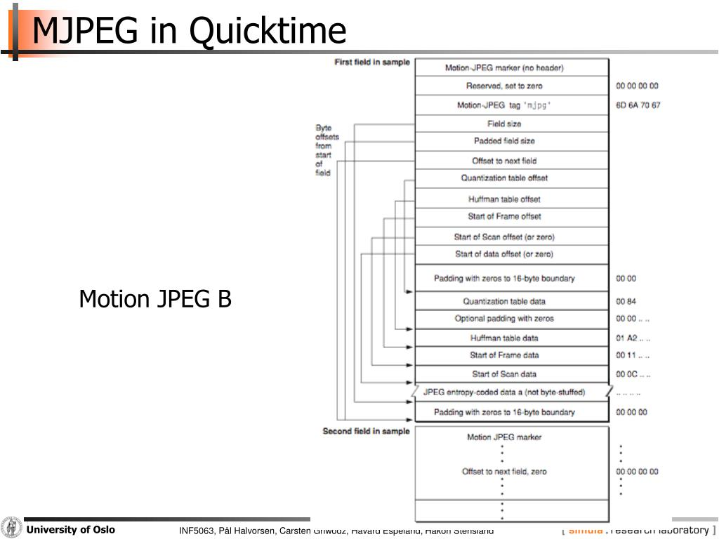 PPT - M-JPEG PowerPoint Presentation - ID:3757468