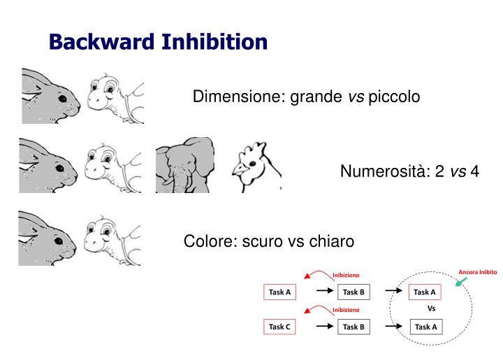 Backward Inhibition