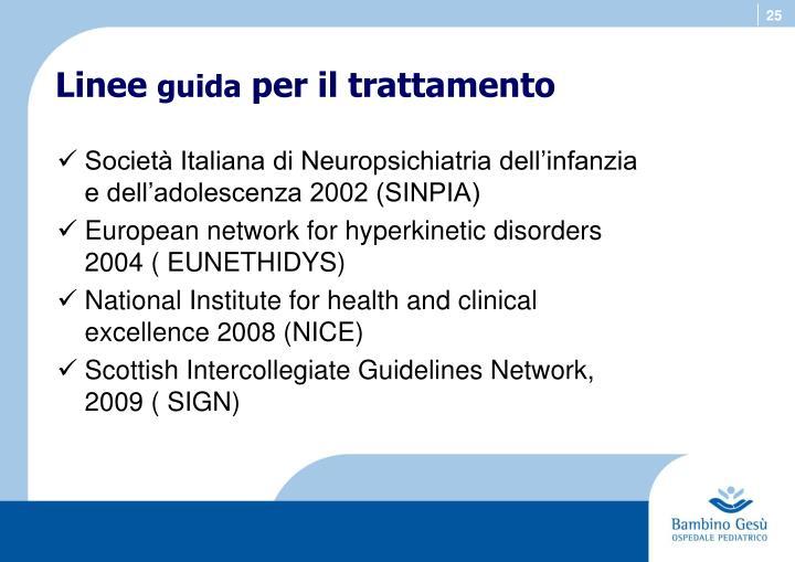 Società Italiana di Neuropsichiatria dell'infanzia e dell'adolescenza 2002 (SINPIA)