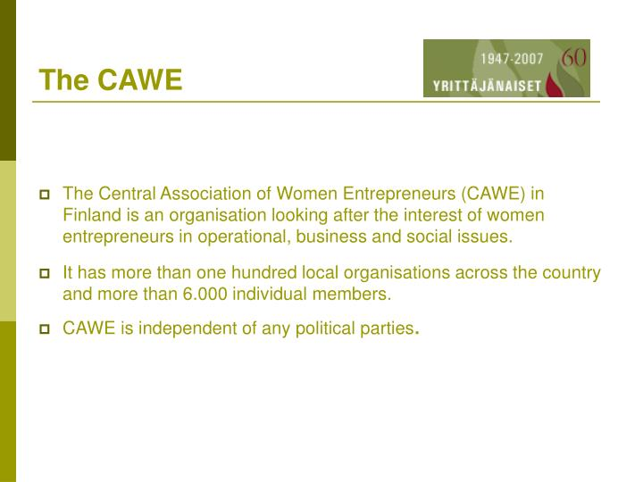 The cawe