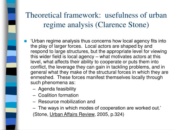 conflict theoretical framework