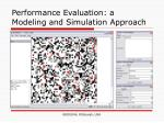 performance evaluation a modeling and simulation approach