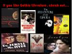 if you like gothic literature check out