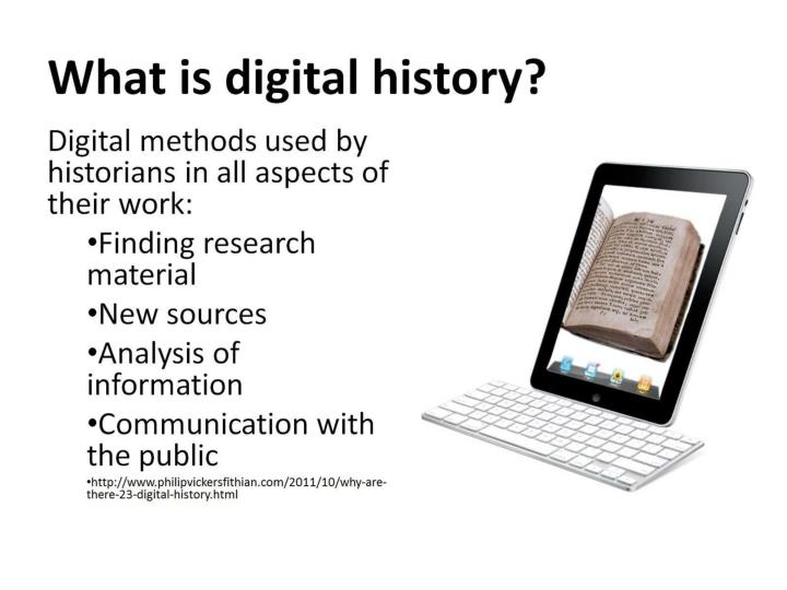 What is digital history