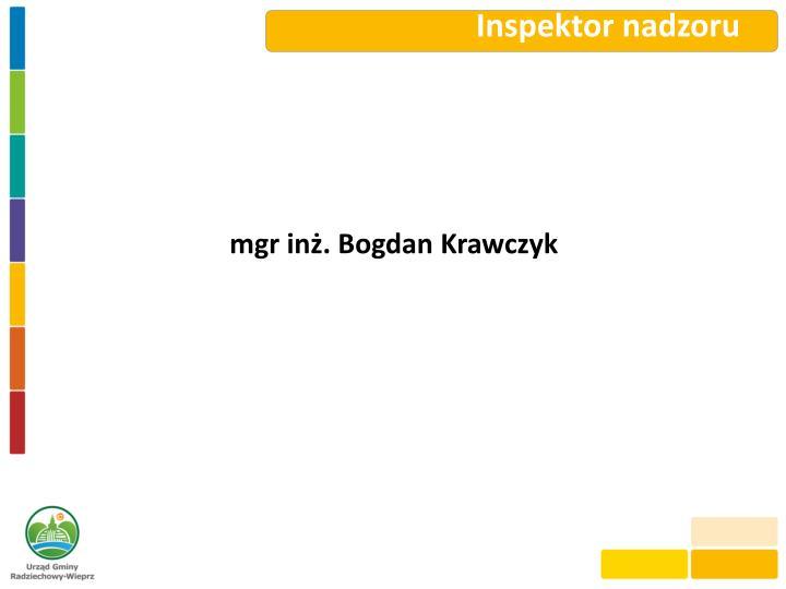 Inspektor nadzoru