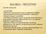 bulimia przyczyny