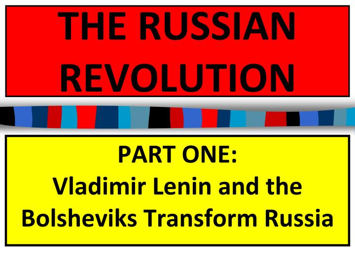 how the bolshevik revolution influenced russia essay New topic bolshevik revolution of 1917 bolshevik in russia the bolshevik revolution in russia the a context where its greatly influenced and.