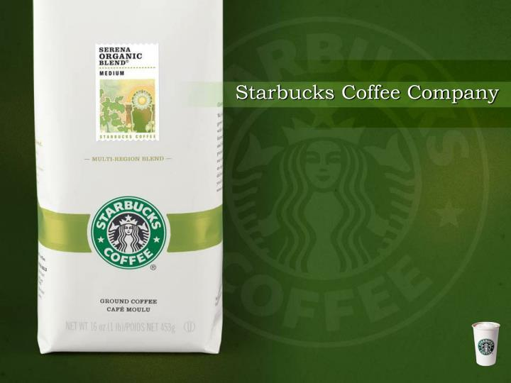 an overview of the starbucks coffee company in the united states Provided to business ethics and compliance is directed to the united states business ethics and compliance at starbucks we of starbucks® coffee.