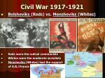 civil war 1917 1921