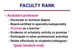 faculty rank1