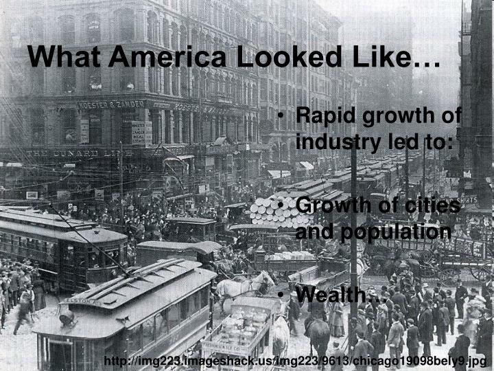 What america looked like