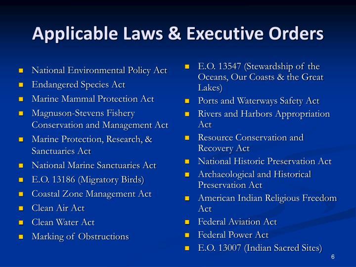 National Environmental Policy Act