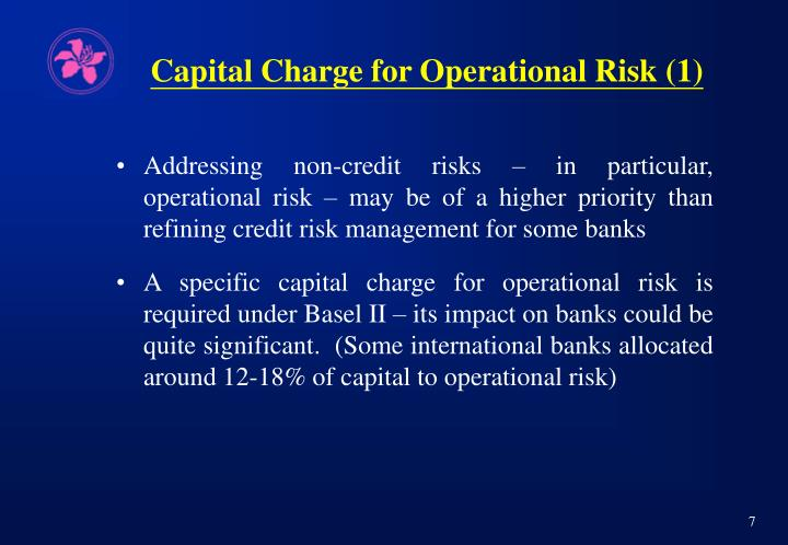 Capital Charge for Operational Risk (1)