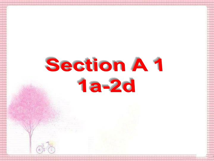 Section A 1