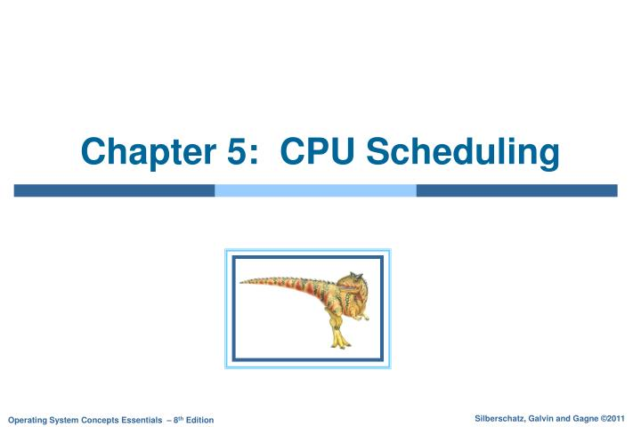 chapter 5 cpu scheduling n.