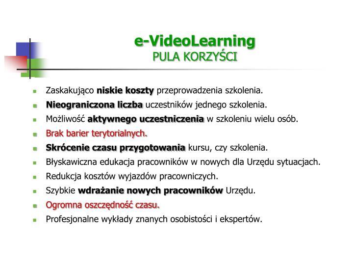e-VideoLearning