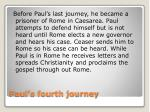 paul s fourth journey