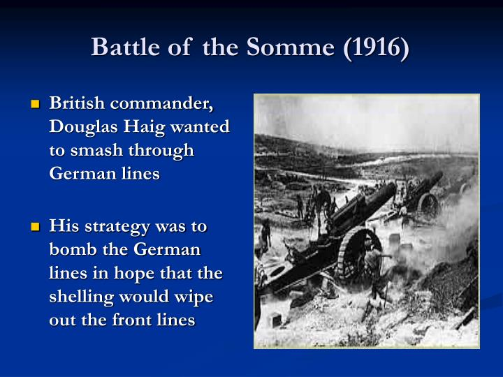 Battle of the Somme (1916)