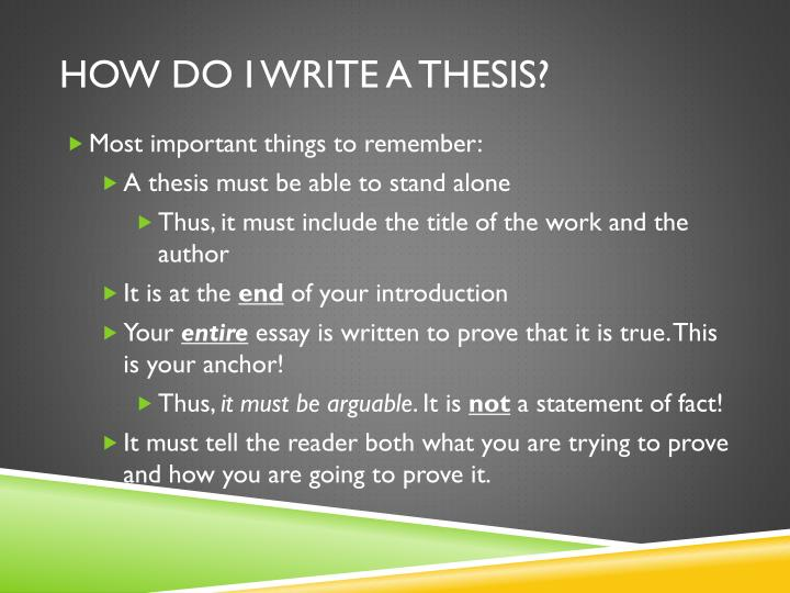 what is a thesis statement and why is it important Thesis statements what is a thesis the thesis statement why it important to have good statement youtube definition, examples.
