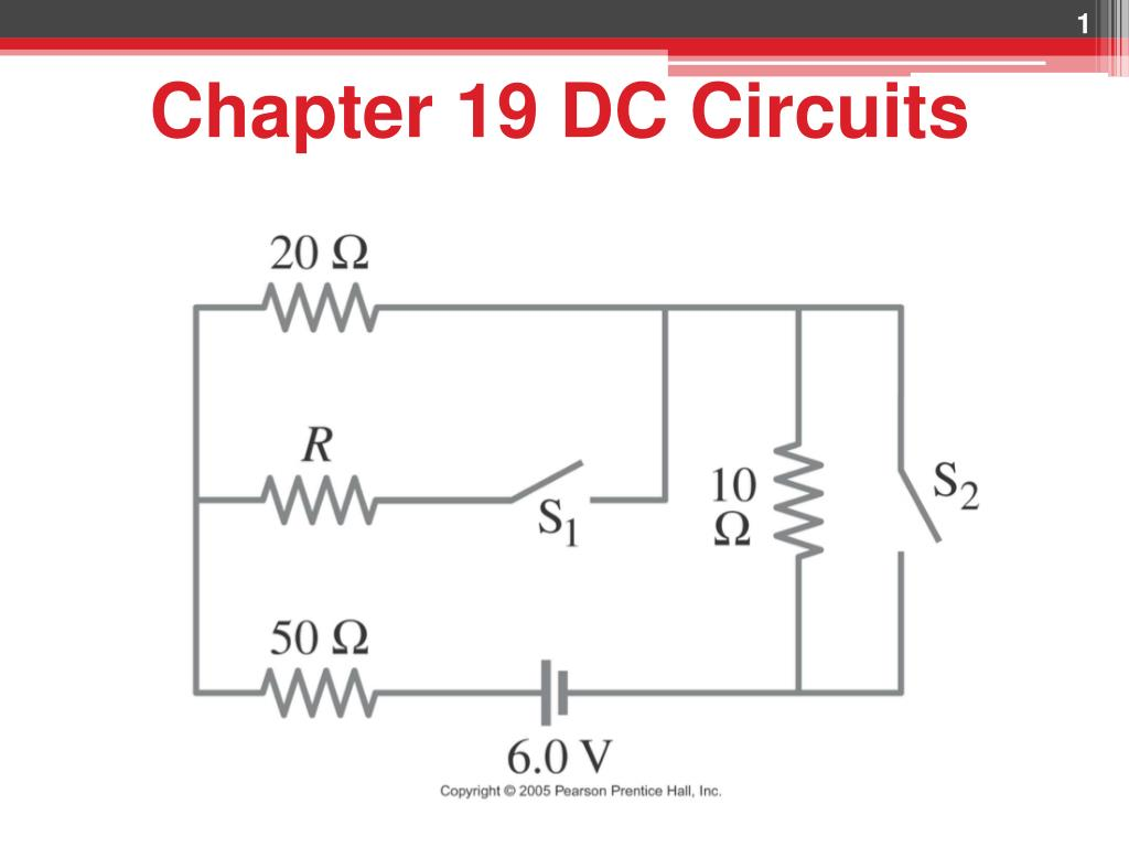 Ppt Chapter 19 Dc Circuits Powerpoint Presentation Id3762614 Basic