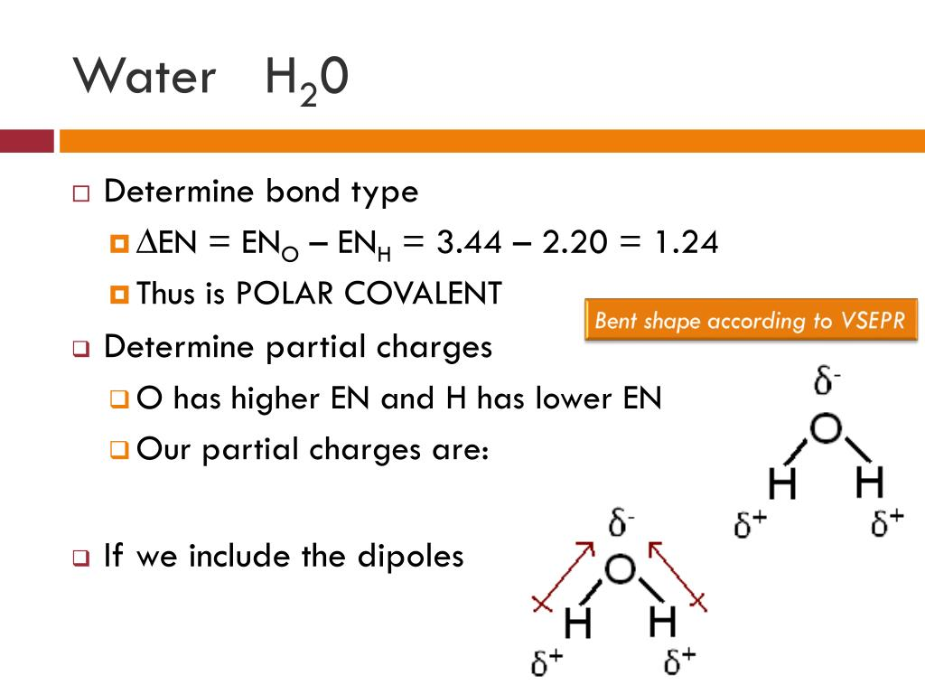 PPT - Polar Bonds and Molecules PowerPoint Presentation ...