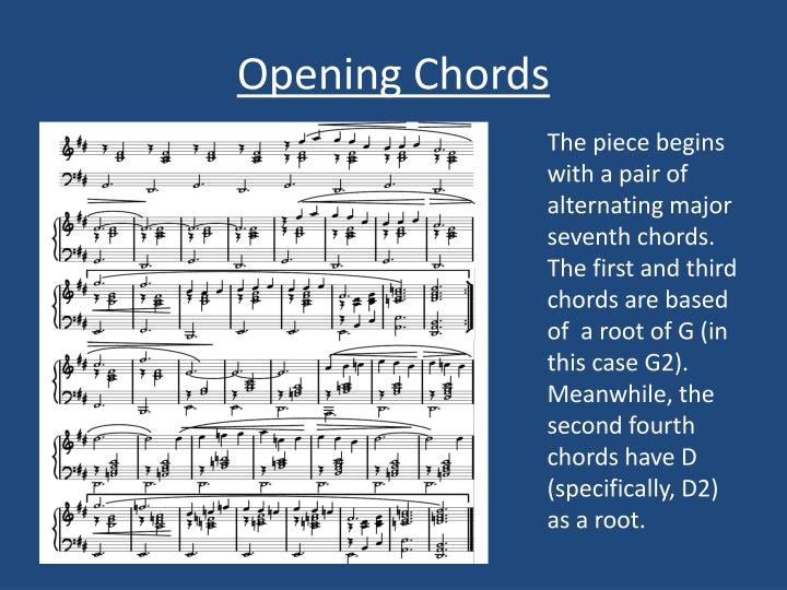 Opening Chords