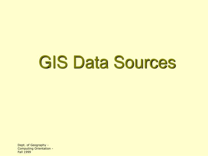 gis data sources n.